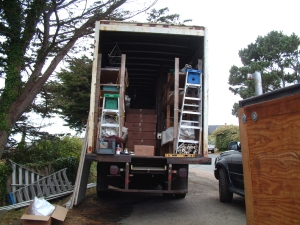 Equipment for Bob Fest - lots of hauling!
