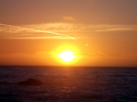 Sunset, Noyo Headlands Park, Fort Bragg, California Photographer: Mary Charlebois