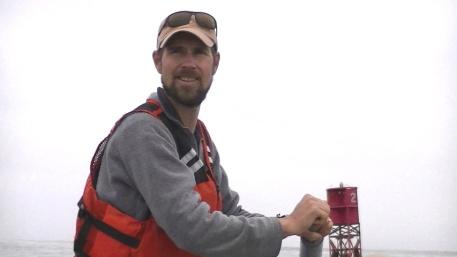 Jason Island at the sweep oar