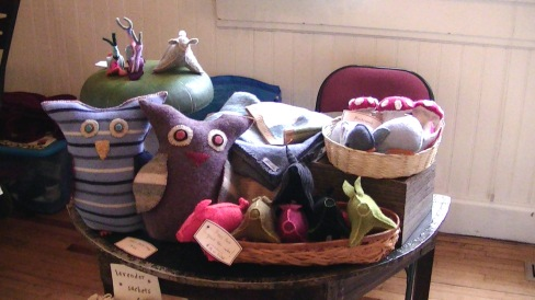 Crafts at Winter Market
