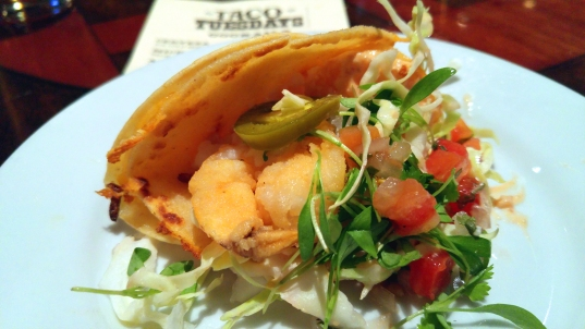 Shrimp Po Boy Taco Photographer: Mary Charlebois