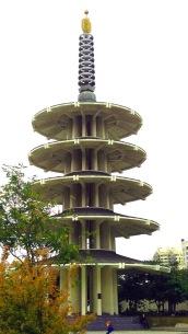peace pagoda-01 med BY CHARLEBOIS