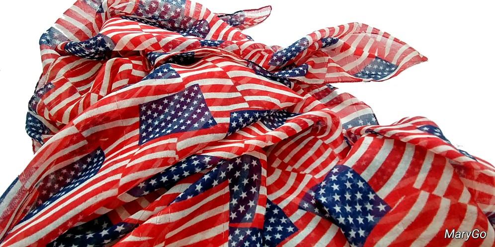 us flag scarf-01 BY CHARLEBOIS