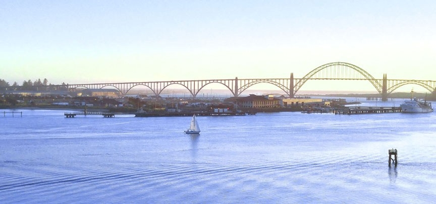 yaquina bay bridge-04 12x BY CHARLEBOIS