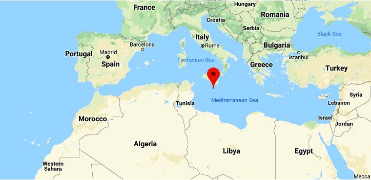 Malta's perfect location