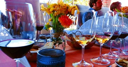 Wine tasting at DAOU Winery and Vineyards, Paso Robles California. Photo: Mary Charlebois