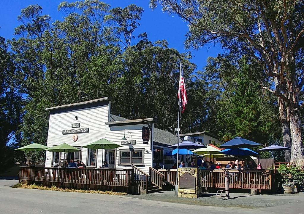 Sabestion Store/Hearst Winery Tasting Room, San Simeon CA.