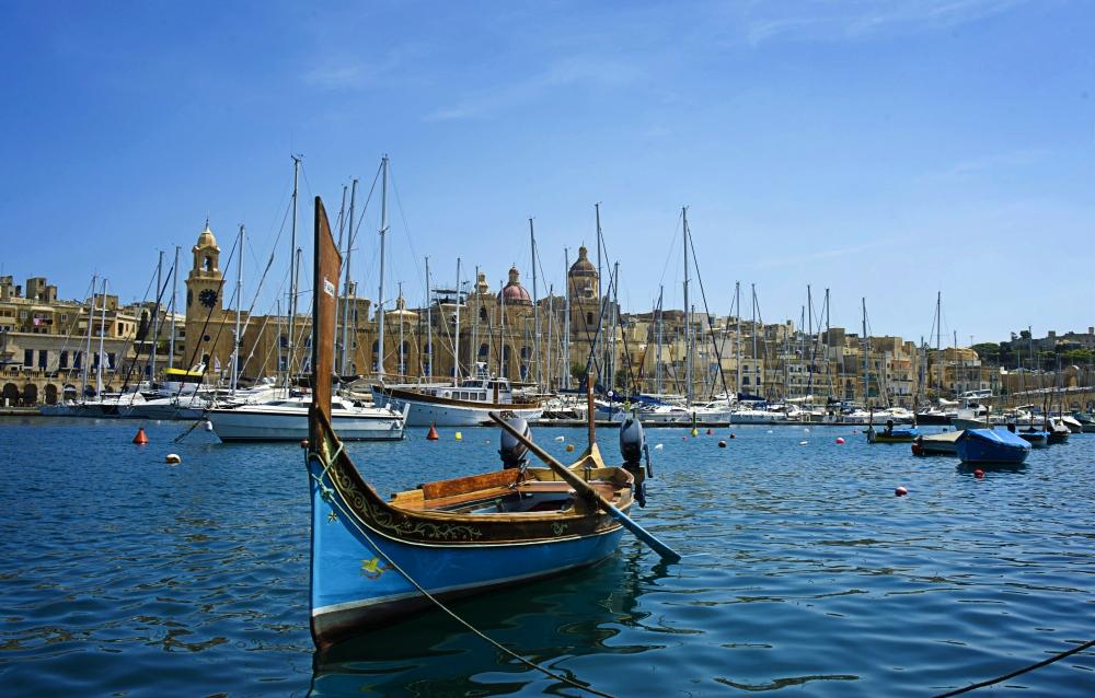 Birgu Bay, Malta. All photos from Visit Malta.