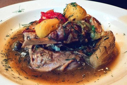 Fenkata - Rabbit Stew. The national dish of Malta.