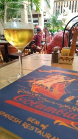 Spanish white at Columbia Restaurant, St Augustine Florida. Photo: Mary Charlebois