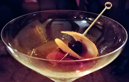 The perfect Manhattan, Eleven Twenty Two, Paso Robles California. Photo: Mary Charlebois