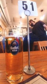 German beer at Gourmet Haus Staudt, Redwood City California. Photo: Mary Charlebois