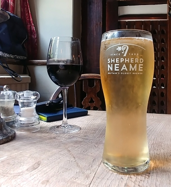 Local Zen and hard cider. King Henery VIII, Hever, Kent, England. Photo: Mary Charlebois