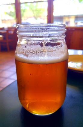 Honey Wheat Ale at Mt St Helena Brewery, Middletown California. Photo: Mary Charlebois