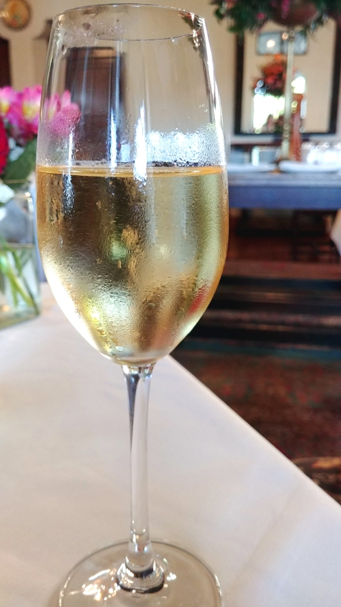 Cool and crisp Chardonnay at Julia's, Berkeley City Club, Berkeley California. Photo: Mary Charlebois