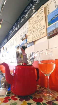 Italian - House White at Smokehouse Deli and Cicchetti, Ludlow, Shropshire, England. Photo: Mary Charlebois