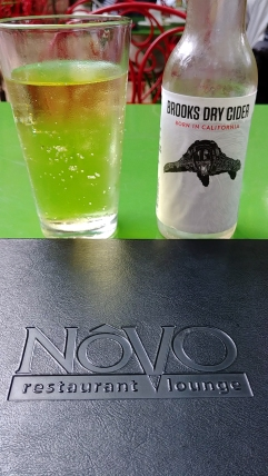 Brooks Dry Cider at Novo, downtown San Luis Obispo California. Photo: Mary Charlebois