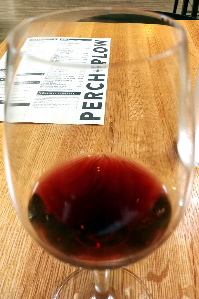 Pinot Noir. Perch + Plow, downtown Santa Rosa California. Photo: Mary Charlebois