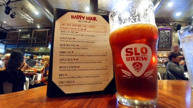 Red Beer, SLO Brew, Downtown San Luis Obispo California Photo: Mary Charlebois