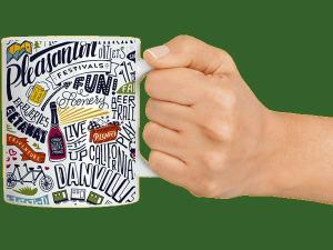 Caffeine Trail Mug, Tri-Valley CA
