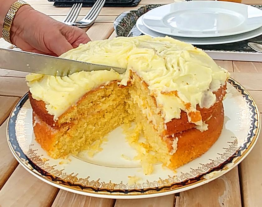 English Lemon Cake. Photo by Mary Charlebois