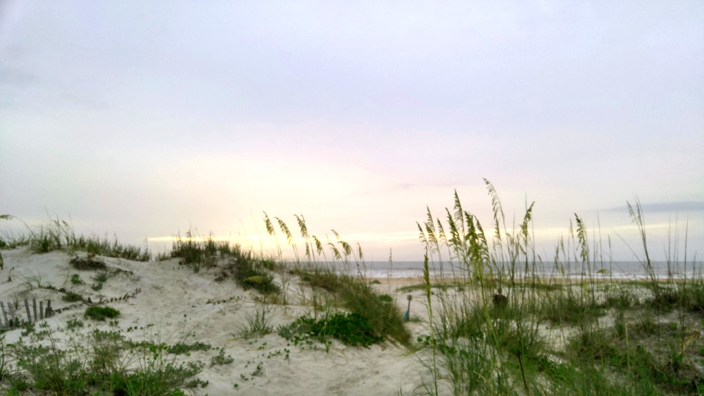 St Augustine Beach Florida at sunrise. Photo by Charlebois